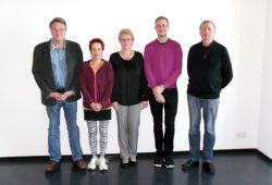Klaus Nührig, Franziska Röchter, Kerstin Tronicke, Stefan Kabisch, Ralph Grüneberger (v. l.). Foto: Georg Hans Schlitte