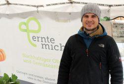 """""""ernte-mich""""- Gründer Richard Hagedorn. Foto: Volly Tanner"""
