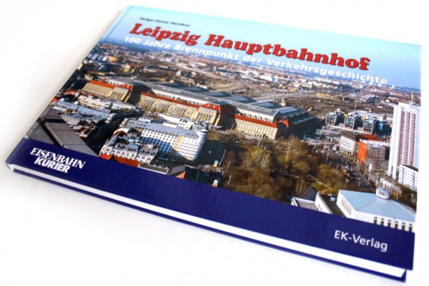 Helge-Heinz Heinker: Leipzig Hauptbahnhof. Foto: Ralf Julke