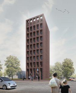 Meisterklasse Architektur - Eine Architekturfakultät für die HGB. Entwurf: Dennis Hartung / Foto: Dennis Hartung