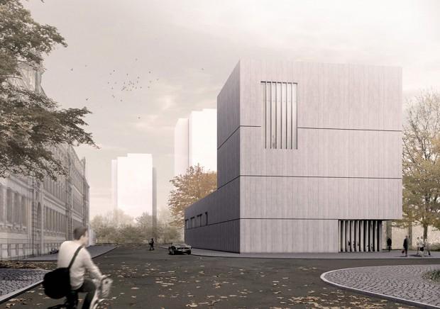 Meisterklasse Architektur - Eine Architekturfakultät für die HGB. Entwurf: Fabio Mata / Foto: Fabio Mata