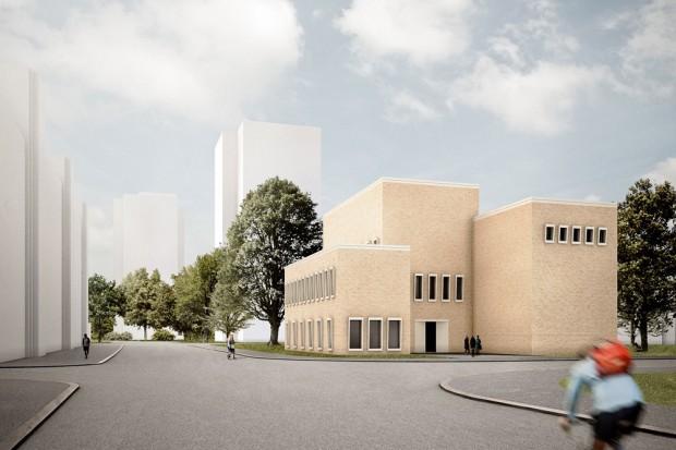 Meisterklasse Architektur - Eine Architekturfakultät für die HGB. Entwurf: Thilo Rohländer / Foto: Thilo Rohländer