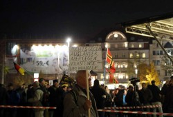Invasoren und Schlimmeres. Woche für Woche dubiose Parolen. Foto: L-IZ.de