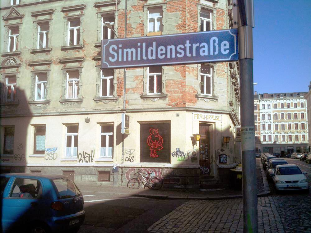 Irrsinn oder Kalkül? Die Simildenstraße. Foto: Alexander Böhm