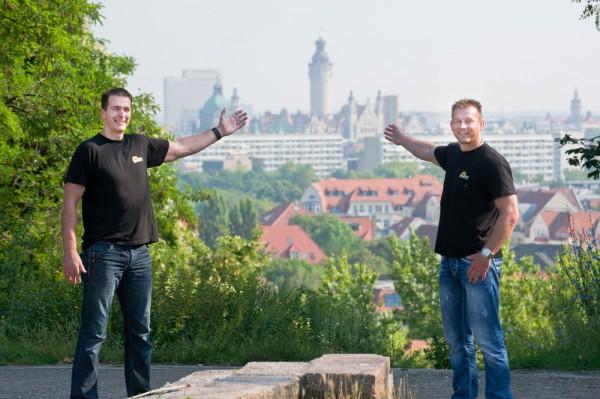 Peter und Steffen Kiefer. Foto: privat