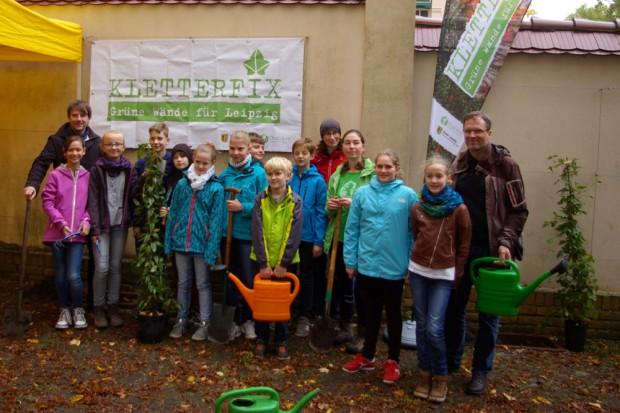 Leipziger Internet Zeitung Kol We Bepflanzt Gemeinsam