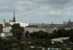 Leipzig-Kulisse mit Johannistal. Foto: Ralf Julke