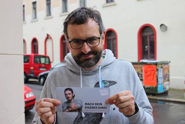 Der Projektleiter von selbst & ständig Frank Lemloh. Foto: Volly Tanner