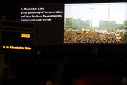 Die erste genehmigte Demo vom 4. November in Berlin. Foto: L-IZ.de