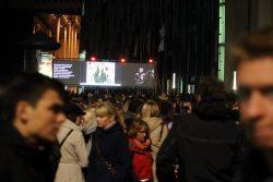 Lichtfest 2015, vor der Nebenbühne. Foto: L-IZ.de