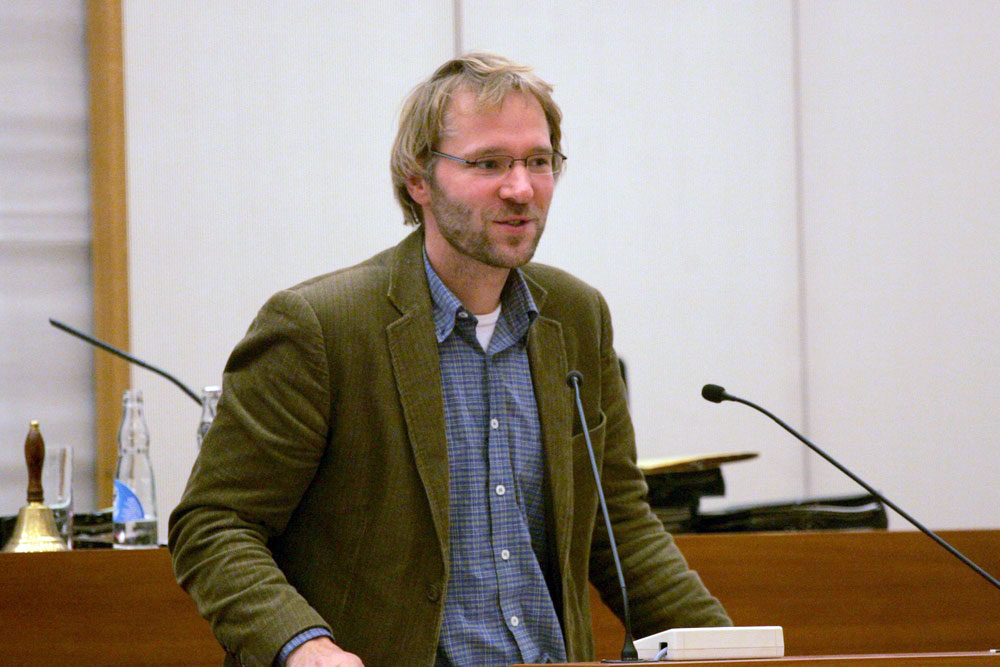 Nun in der Linksfraktion: Stadtrat Mathias Weber. Foto: L-IZ.de