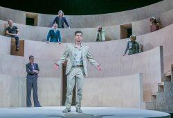 Ralph Jung als Nathan der Weise in Erlangen. Foto: Jochen Quast / Theater Erlangen