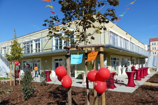 Die neue Outlaw-Kindertagesstätte in der Lutherstraße. Foto: Outlaw Kinder- und Jugendhilfe gGmbH