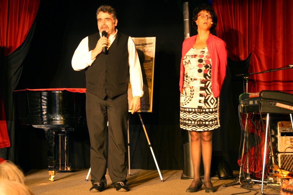 Klaus Petermann und Annekatrin Michler. Foto: Ralf Julke