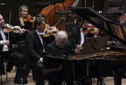 Radu Lupu begeistert am Klavier. Foto: Alexander Böhm