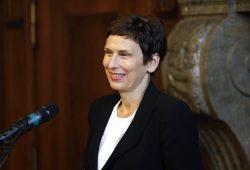 Rektorin der HTWK Gesine Grande. Foto: Alexander Böhm