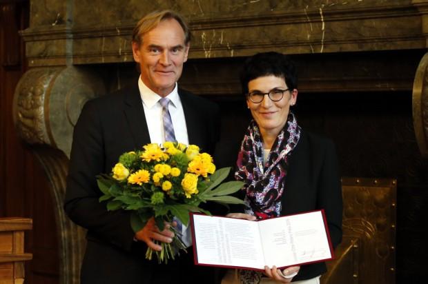 Überreichung des Louise-Otto-Preis. Foto: Alexander Böhm