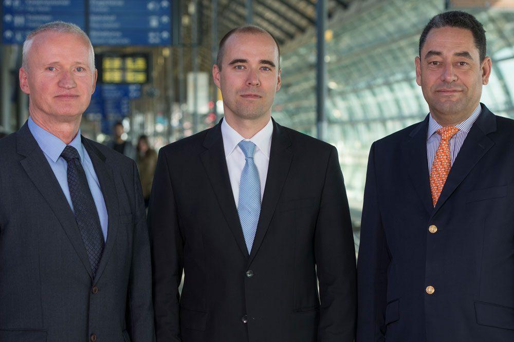 Vorstand MFAG v.l. Dieter Köhler, Johannes Jähn, Markus Kopp. Foto (Uwe Schoßig)