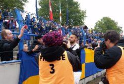 Im Fokus nach dem Inter-Spiel: Djamal Ziane. Foto: Marko Hofmann