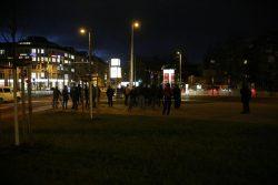 17:05 Uhr: Versammlung am Westplatz. Foto: L-IZ.de