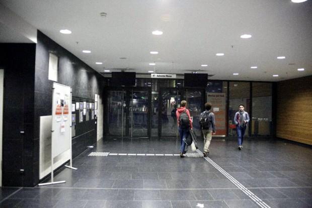 17:45 Uhr: Einige Studenten müssen heute wg. Legida hungrig nach Hause gehen. Foto: L-IZ.de
