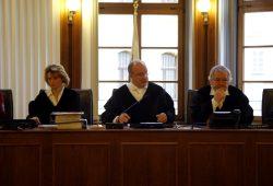 2. Strafkammer am Landgericht unter Vorsitz von Michael Dahms (M.). Foto: Alexander Böhm