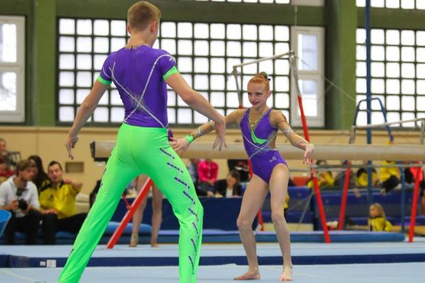 Die Vize-Europameister Snechana Sinkov/ Daniel Blintsov (SC Riesa). Foto: Jan Kaefer