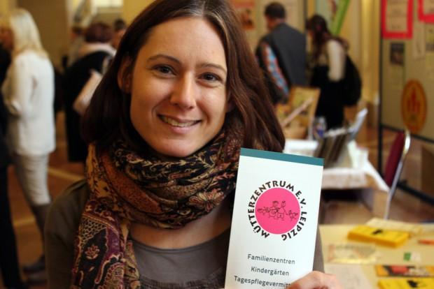 Antje Al Abbadi, Ansprechpartnerin für Weiterbildungen beim Mütterzentrum Leipzig. Foto: Volly TAnner
