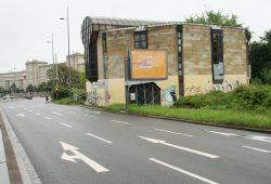 Der ehemalige Bowlingtreff am Wilhelm-Leuschner-Platz. Foto: Ralf Julke
