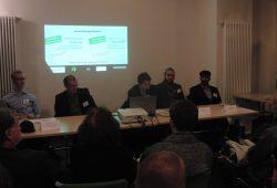 Diskussionsveranstaltung zum Moscheebau in Gohlis. Foto: René Loch