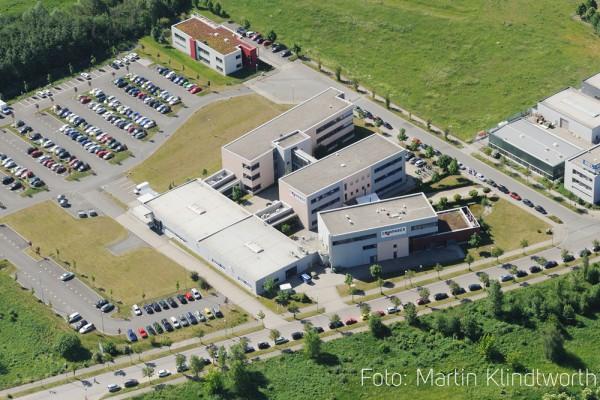 Das COMPAREX-Hauptquartier an der Blochstraße in Leipzig. Foto: COMPAREX, Martin Klindworth