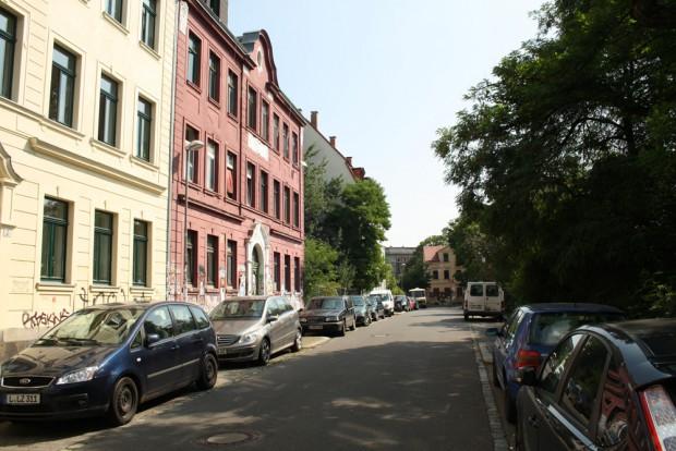Herderstraße im Sanierungsgebiet Connewitz. Foto: Ralf Julke