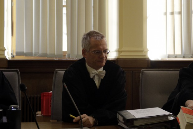 Der Vorsitzende Richter Jens Kaden. Foto: Alexander Böhm