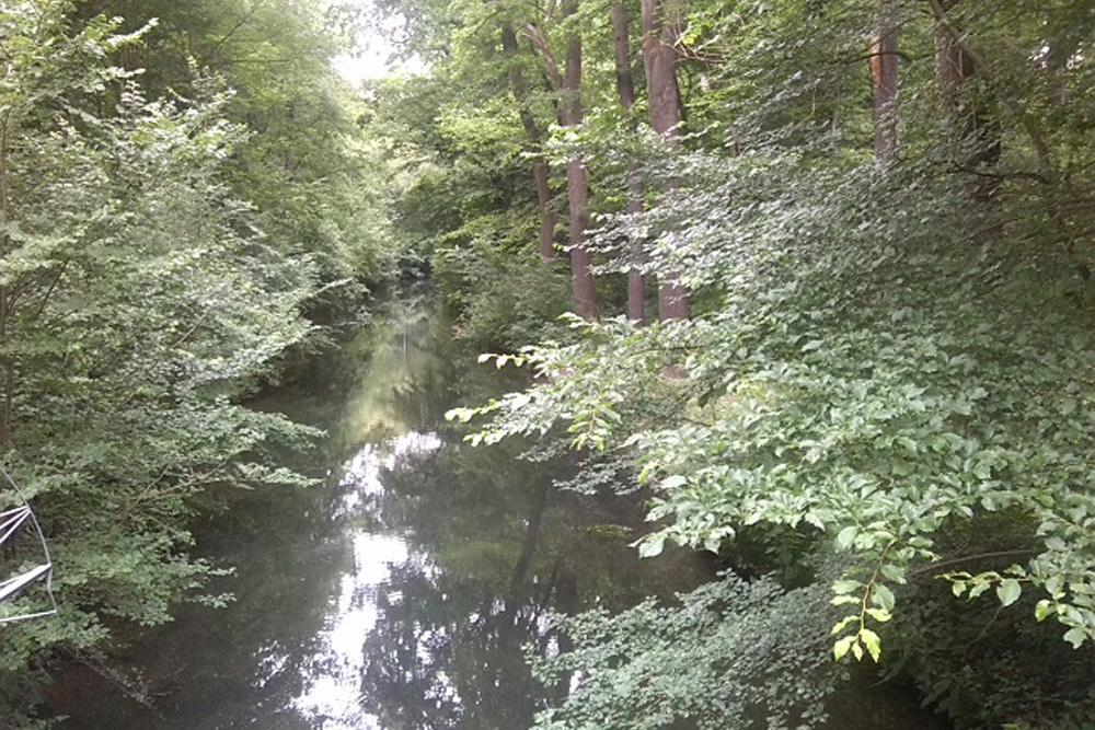 Der Floßgraben, von der Weißen Brücke aus fotografiert. Foto: Andreas Liste, AHA