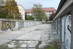 Garagenlandschaft in Connewitz. Foto: Ralf Julke