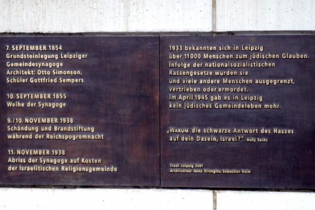 Die Inschrift an der Gedenkstätte Gottschedstraße. Foto: L-IZ.de