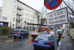 Seit Dezember 2013 galt in der Bernhard-Göring-Straße die Sonderregelung. Foto Ralf Julke