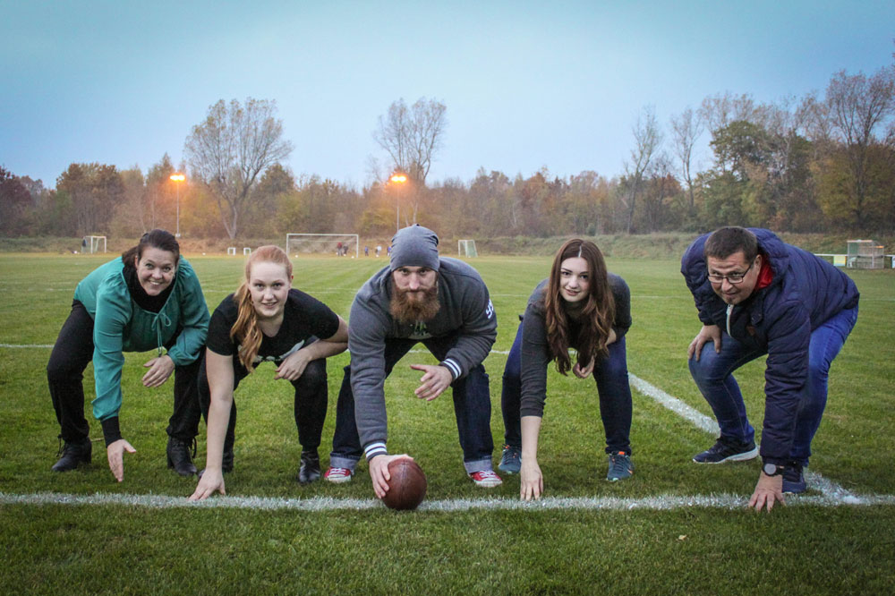 Neuer American Footballverein startet in Leipzig. Foto: ASC Leipzig Hawks e.V.