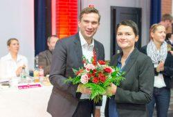 Martin Dulig bei der Wahl von Daniela Kolbe zur Generalsekretärin der Sachsen-SPD. Foto: SPD Sachsen/Julian Hoffmann