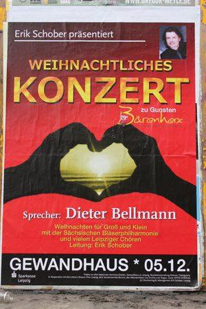 Weihnachtskonzert für den Bärenherz Leipzig e.V. Foto: Volly Tanner