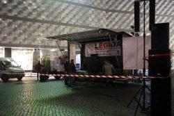 Legida baut auf am 9. November auf dem Richard-Wagner-Platz. Foto: L-IZ.de