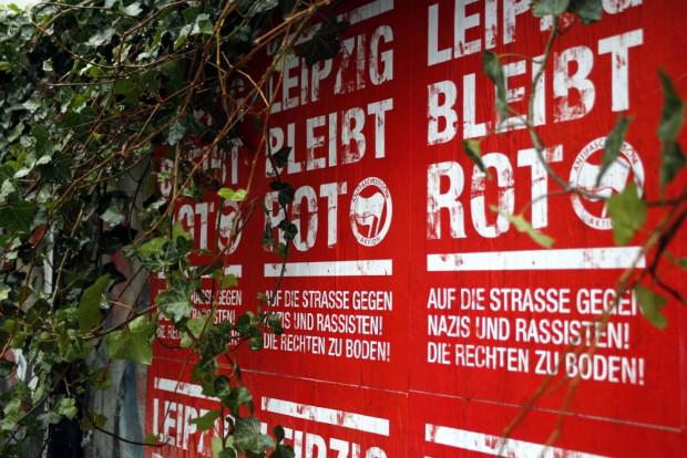Connewitz bereitet sich auf die Neonazidemos am 12. Dezember vor. Foto: Alexander Böhm