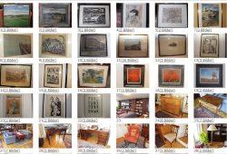 Ein Blick auf die zur Auktion vorgesehenen Stücke aus dem Nachlass von Erich Loest. Screenshot: L-IZ