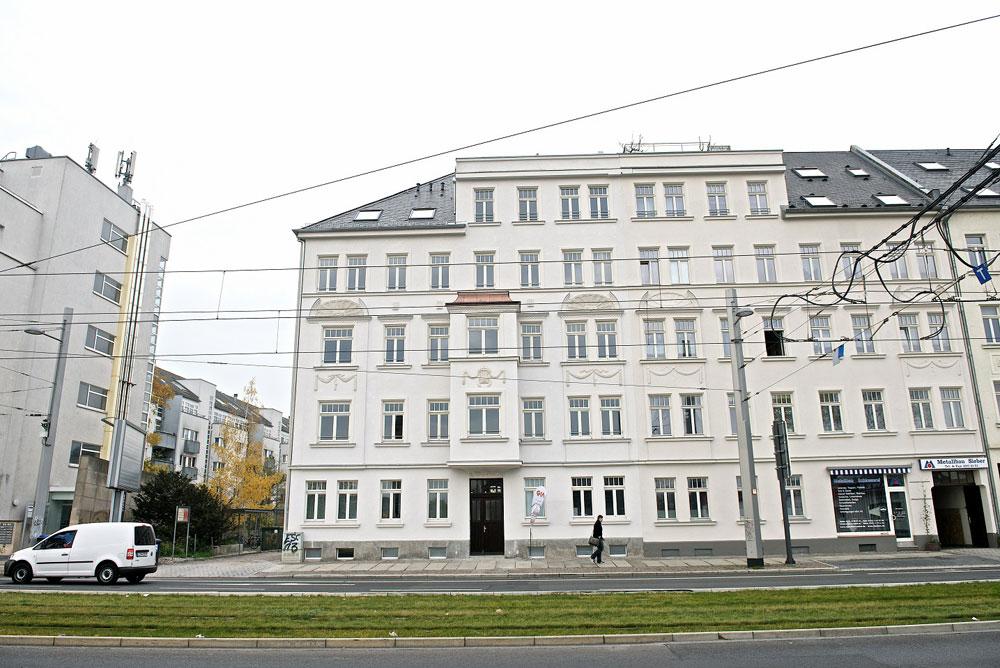 Die Luisen-Residenz am Neuen Lindenauer Hafen. Foto: AS Unternehmensgruppe