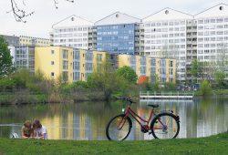 LWB-Wohnungen in Lößnig. Foto: LWB / Punctum, Peter Franke