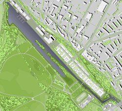 Der Masterplan für die Bebauung am Lindenauer Hafen. Grafik: LESG