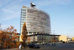 MDR-Hochhaus in Leipzig. Foto: Matthias Weidemann