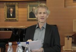 Markus Teutschbein möchte Thomaskantor werden. Foto: Martin Schöler