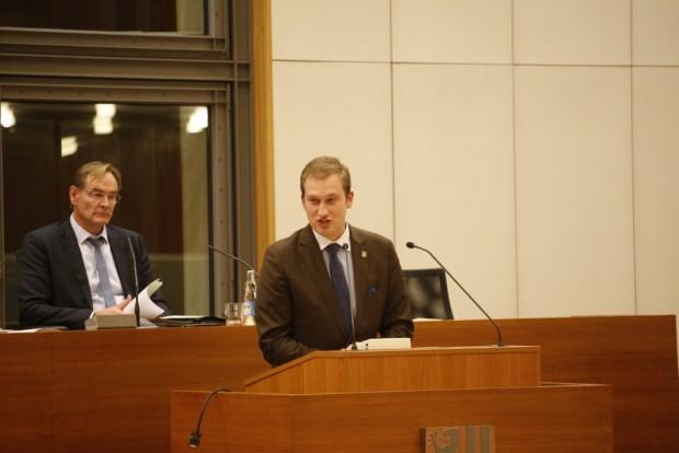 Michael Weickert und Burkhard Jung zum Thema Zukunft, Udo Brömme und Prosa. Foto: L-IZ.de