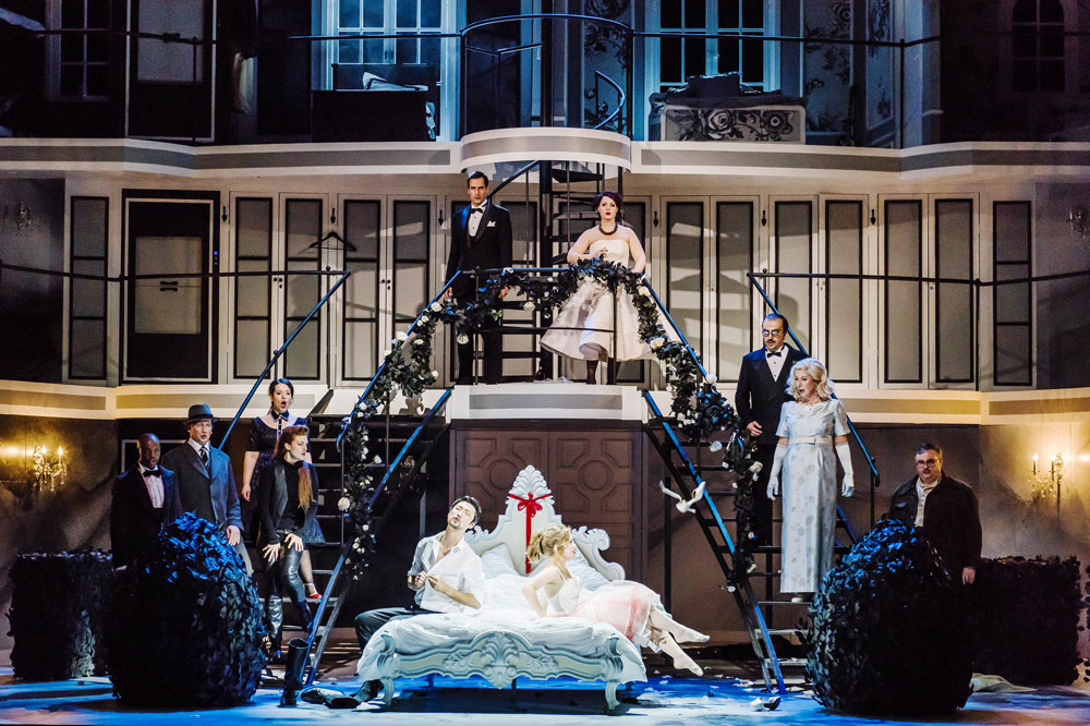 Le nozze di Figaro feierte am 14. November Premiere. Foto: Kirsten Nijhof
